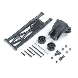 TLR / Team Losi LOS231077  Losi Wheelie Bar Set, Complete: 22S Drag