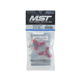 MST MXS-820117R  MST Aluminum Front Lower Arm Set (Red)