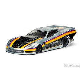 Protoform PRM1571-40  Chevrolet Corvette C7 1/10 Pro-Mod Short Course Drag Car Body (Clear)
