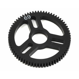 Exotek Racing EXO1544 Flite Spur Gear 48P 69T, Machined Delrin for EXO Spur Gear Hubs