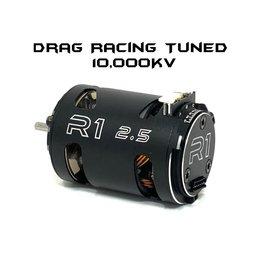R1wurks R1-020116 -14 R1 2.5T V16 Drag Racing Motor w/14mm Rotor Tuned 10,000KV BIG RACE MOTOR 020116