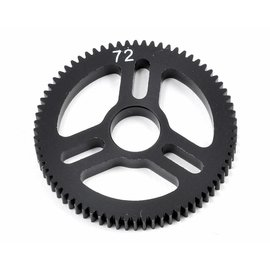 Exotek Racing EXO1590 Flite Spur Gear 48P 72T, Machined Delrin for EXO Spur Gear Hubs