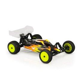 J Concepts JCO0451  S2 Losi Mini-B Clear Body w/ Wing
