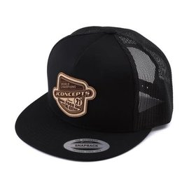 J Concepts JCO2915B  Black Heritage 21 Snapback Flatbill Hat