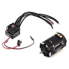 Hobbywing HWI38020321  Hobbywing XR10 Justock G3 Sensored Brushless ESC/  (17.5T) SD G2.1 Motor Combo