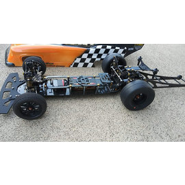 """Undercover RC UCR3005-5  UCDrag Renegade DR10 Chassis Kit - Flat Kickup w/ wheelie bar 10"""""""