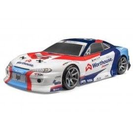 HPI HPI120097  RS4 Sport 3 Drift RTR James Deane WORTHOUSE NISSAN SILVIA S15
