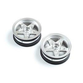 TLR / Team Losi LOS43047  Losi Front Wheel, Satin (2): 22S Drag