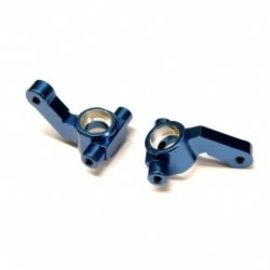 STRC SPTSTC91417KB  Blue Aluminum Steering Knuckles (2) DR10