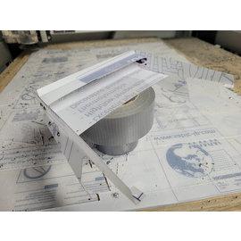 Undercover RC UCR1022  UCDrag Wing & Splitter Kit for PRM1571-40 - Protoform Corvette - NPRC Legal Bi-Level - PRM1571-40O