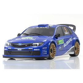 Kyosho KYOMZP429WR  Mini Z ASC Subaru Impreza WRC 2008 Auto Scale Body