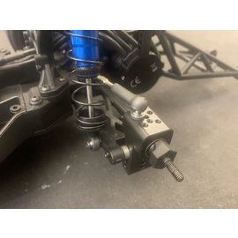 Michaels RC Hobbies Products MRCDR10HUB-2PK  Black Steel Rear Hub DR10 & B6 (2)