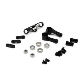 X-Square X2-00102  X-Square Aluminum Adjustable Ackermann Steering Plate For Xray T4