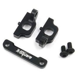 X-Square X2-0025  X-Square Aluminium FR Spilt Suspension Mount Set For Xpress XQ1 XQ1S XQ2S XM1 XM1S FT1 FT1S XQ10