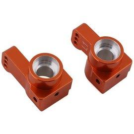 STRC SPTSTC91418-T1O  Orange ST Racing CNC Machined Aluminum Rear Hub Carriers 1 deg. Toe-in (1 pair) for Associated DR10