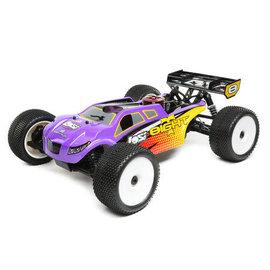 TLR / Team Losi LOS04011V2  Purple/Yellow Losi 8IGHT-T Nitro 1/8 4WD RTR Truggy w/SLT 2.4GHz Radio