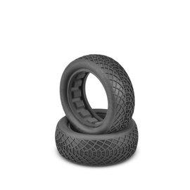"J Concepts JCO3197-02  Ellipse Green 2.2"" 2WD Front Buggy Tires (2)"