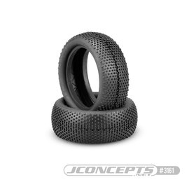 J Concepts JCO3161-02  Double Dees V2 Green Compound 4wd Buggy Front Tires (2)