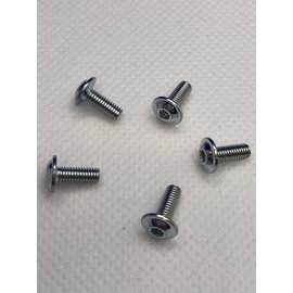 Michaels RC Hobbies Products MRCHW-BHFM3x8  M3 x 8mm Steel Flanged Button Head (5)