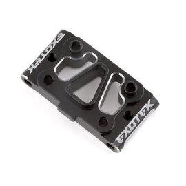 Exotek Racing EXO2025  22S Drag HD Aluminum Front Pivot (Silver/Black)