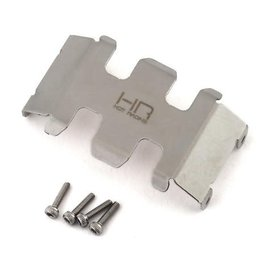 HOT RACING HRASXTF332C  SCX24 Stainless Steel Center Belly Skid Plate