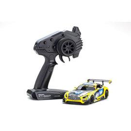 Kyosho KYO32338YBK  Mini-Z RWD MR-03 Readyset Mercedes-AMG GT3 NO.4 24H Nurburgring 2018