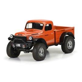 "Proline Racing PRO3499-00  1946 Dodge Power Wagon 12.3"" Clear Crawler Body"