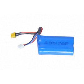 RC Diecast DCM28001-07  2000mAh 7.4v Lithium Battery for 25001  CAT 1/20 Scale RC 330D Excavator
