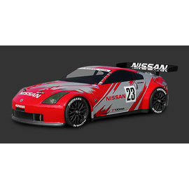 HPI HPI7385  190mm Nissan 350Z Nismo GT Clear Body