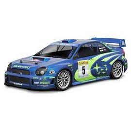 HPI HPI7458  200mm Subaru Impreza WRC 2001 Clear Body