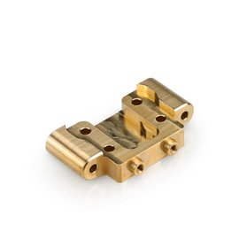 J Concepts JCO2875  Brass Front Bulkhead, for Team Associated DR10