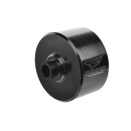 Team Corally COR00180-410  Black F/R Xtreme Differential Case, 30mm Aluminium 7075 Hard Anodized Python XP