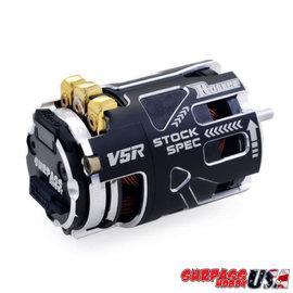 Surpass Hobby USA V5R-25.5 Rocket V5R SPEC 25.5T Sensored Brushless Motor Silver/Black