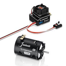 Hobbywing HWI38020320  Hobbywing XR10 Justock G3 Sensored Brushless ESC/  (13.5T) SD G2.1 Motor Combo