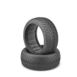 J Concepts JCO3184-01  Ellipse 1/8th Buggy Tires (2) (Blue)