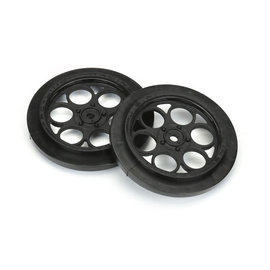 Proline Racing PRO2803-03  Black Showtime Front Runner 12mm Drag Wheels (2)