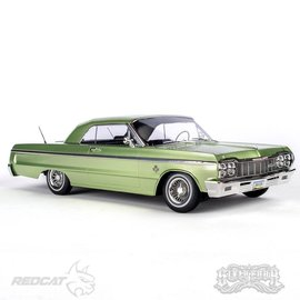 RER14408  Green Kandy & Chrome SixtyFour1/10 1964 Impala Electric Hopping Lowrider