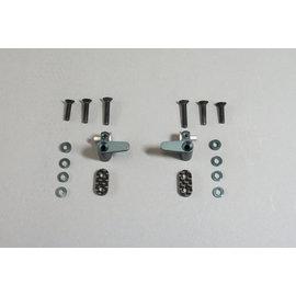 Mugen Seiki MUGA2413  Alum Optional Battery Mounts: MTC1
