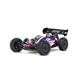 "Arrma ARA8306  Arrma Typhon ""TLR Tuned"" 1/8 4WD Buggy Roller (Pink/Purple)"