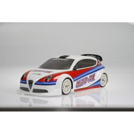 Mon-Tech Racing MB-019-007  Mito RX Rally 190mm Clear Body