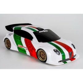 Mon-Tech Racing MB-021-016  Mito Pista 190mm Clear Body
