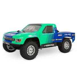 TLR / Team Losi LOS03019V2T2  Green / Blue Tenacity TT Pro 4wd Brushless SCT RTR