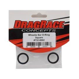 Drag Race Concepts DRC-732-0002  DragRace Concepts Wheelie Bar Wheel O-Ring (2) (Square)