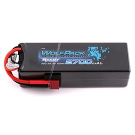 Team Associated ASC762  Reedy WolfPack 6S Hard Case Li-Poly Battery Pack 35C (22.2V/2700mAh) w/T-Style Connector