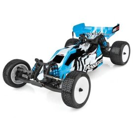 Team Associated ASC90031C  Combo Blue Team Associated RB10 RTR 1/10 Electric 2WD Brushless Buggy Combo (Blue) w/2.4GHz Radio, DVC & Battery & Charger