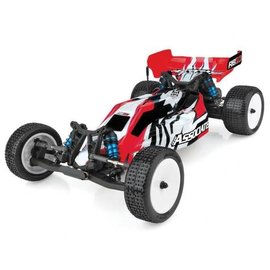 Team Associated ASC90032C  Combo Red Team Associated RB10 RTR 1/10 Electric 2WD Brushless Buggy Combo (Red) w/2.4GHz Radio, DVC & Battery & Charger