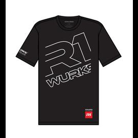 """R1wurks R1 090041  R1Wurks """"Mega"""" T-Shirt XLarge"""