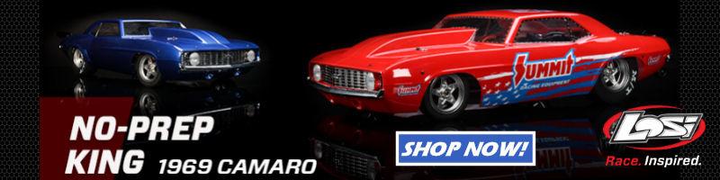 Team Losi  1/10 '69 Camaro 22S No Prep Drag Car