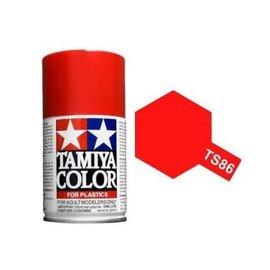 Tamiya TAM85086  TS-86 Brilliant Red Lacquer Spray Paint (100ml)