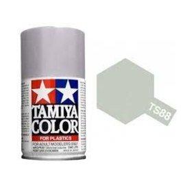Tamiya TAM85088  TS-88 Titanium Silver Lacquer Spray Paint (100ml)